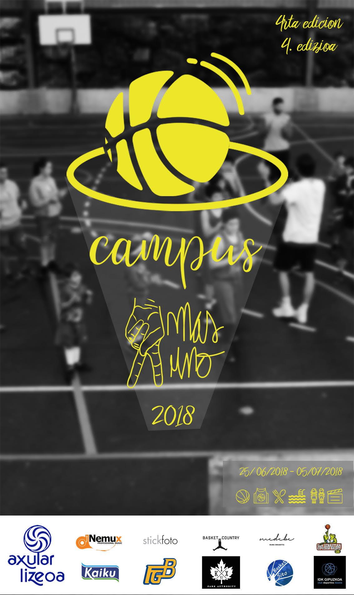 4ª Edicion Del Campus 2 1 Federacion Guipuzcoana De Baloncesto